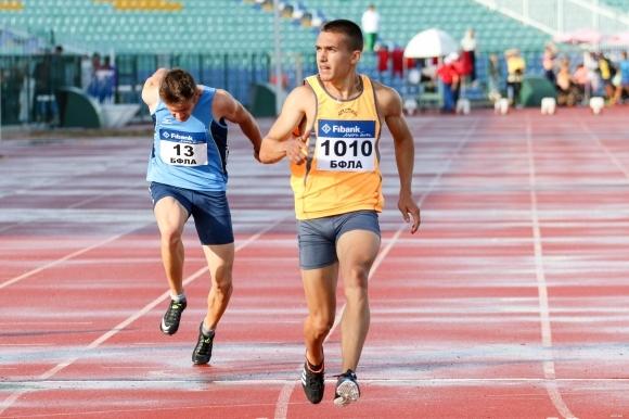 Антонио Иванов не се класира за полуфиналите на 100 м на Световното