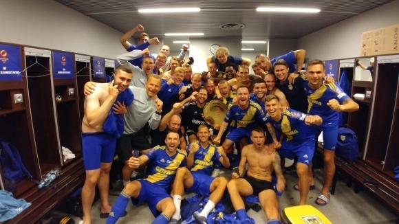 Алекс Колев: Щастлив съм - първи мач за Арка и първи трофей