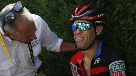 Обиколката на Франция приключи предсрочно за Ричи Порт