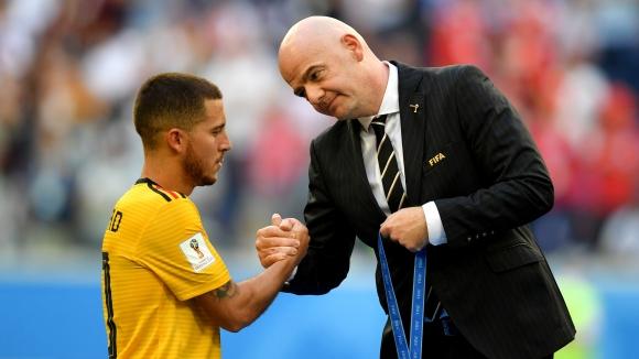 Азар поиска наградата за Футболист на Мондиала