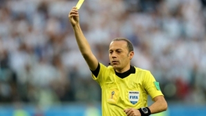 ФИФА определи съдията за полуфинала между Хърватия и Англия