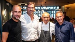 Гуардиола откри ресторант в Манчестър