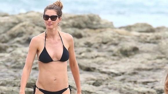37-годишната Жизел демонстрира фантастично тяло (снимки)