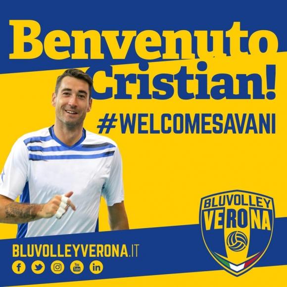 Кристиан Савани подсили Верона