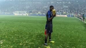 Пол Погба не пропусна да се подиграе с Англия (видео)