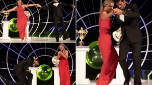 Вижте шампионския танц на Джокович и Кербер (видео)