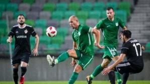 Силен мач за Симеон Славчев за Карабах