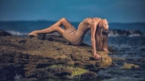 Талисманът на Световното по художествена гимнастика с гореща фотосесия