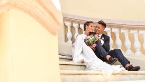 Каролина Плишкова се омъжи за тв водещ
