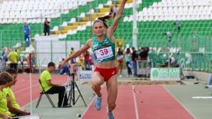 Габриела Петрова донесе първи медал на България в Стара Загора, гъркиня стана №1 в Европа в тройния скок
