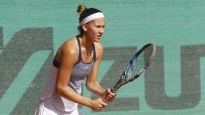 Терзийска отпадна на полуфиналите на двойки на турнир по тенис в Португалия
