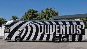 Ювентус представи нов модерен автобус (снимки)