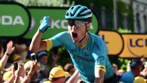 Спринт в последните 200 м излъчи днешния победител на Тур-а (видео)