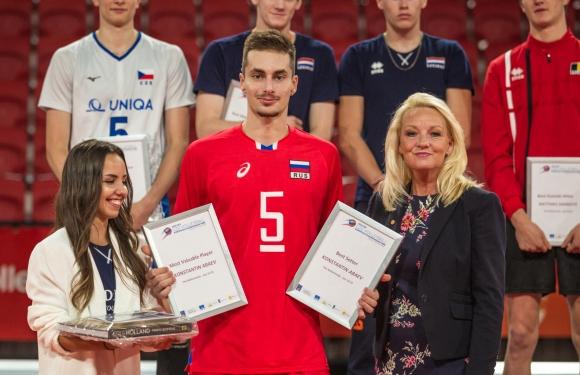 Константин Абаев - MVP на Евроволей 2018