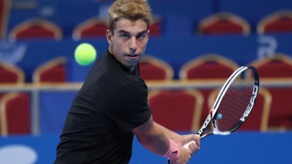 Адриан Андреев е осминафиналист на Европейското до 18 год.