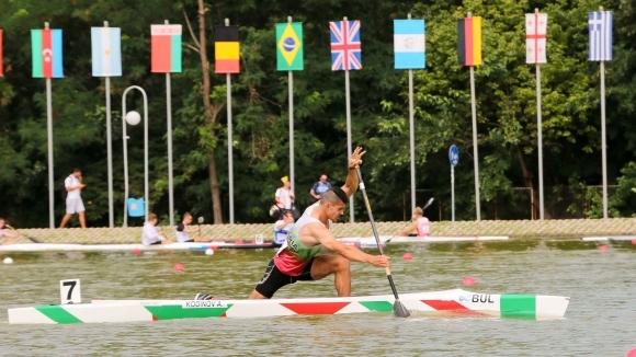 Ангел Кодинов директно на финал на 200 м едноместно кану на СП в Пловдив (видео + снимки)