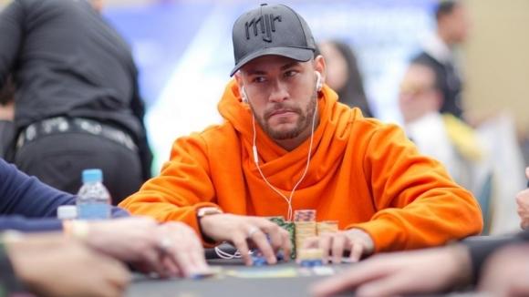 Неймар завърши шести на престижен турнир по покер