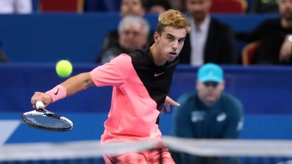 Андреев стигна полуфиналите на Европейското по тенис