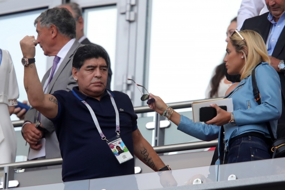 "Роднина изнерви Марадона - той го ""насоли"" в ефир"