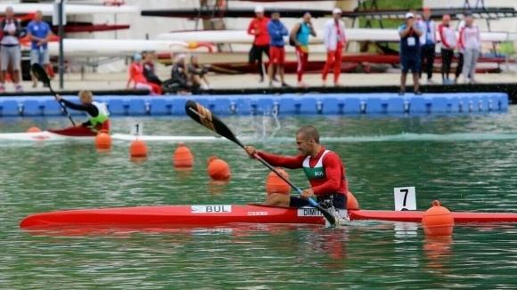 Денис Димитров се класира за полуфиналите на 500 метра едноместен каяк