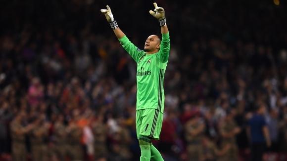 Кейлор Навас е спокоен за бъдещето си в Реал Мадрид