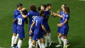 Жоржиньо блести за Челси в дебюта на Сари