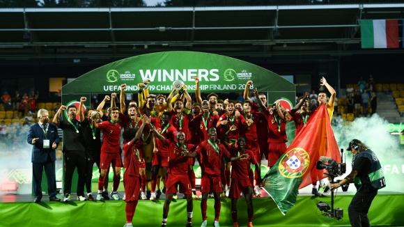 Португалия спечели Евро 2018 до 19 години след трилър срещу Италия