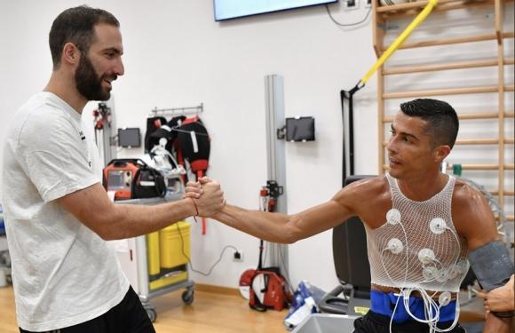 Кристиано Роналдо започна подготовка с Юве (видео)