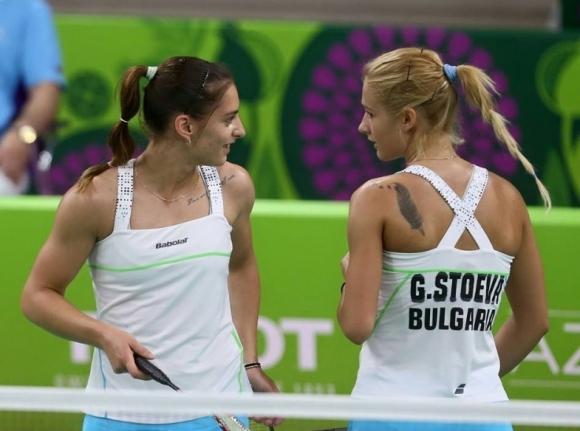 Сестри Стоеви с експресна победа в първия си мач на Световното