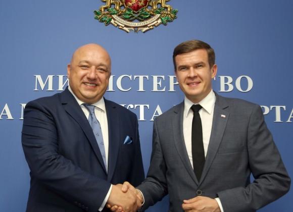 Красен Кралев се срещна с кандидат за шеф на WADA