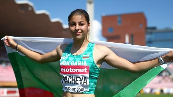 Александра Начева ще е най-младата атлетка на Европейското в Берлин