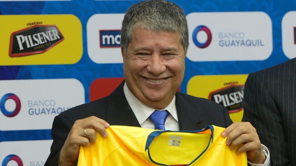 Ернан Дарио Гомес е новият старши треньор на Еквадор