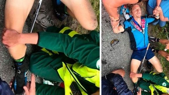 Олимпийски шампион в биатлона претърпя инцидент