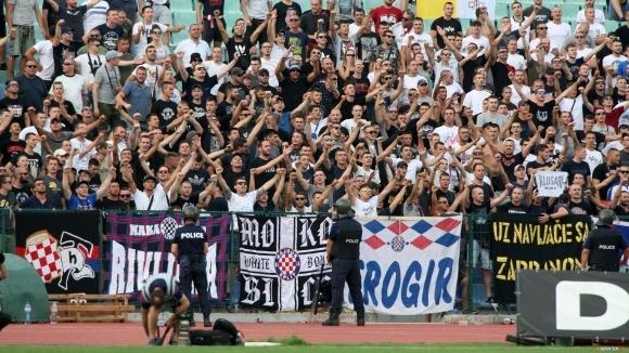 28 привърженици на Хайдук арестувани в Белград за обир на бензиностанция