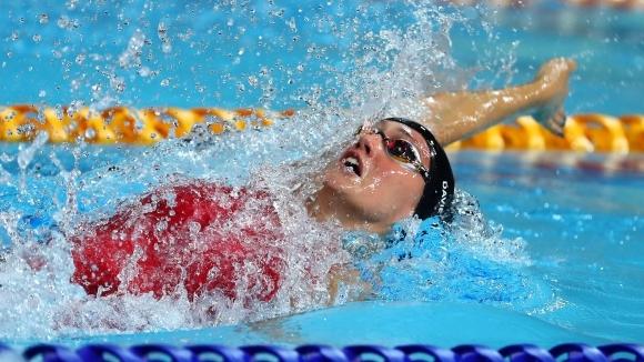 Британка подобри европейския рекорд на 50 м гръб, Георгиева отпадна в сериите
