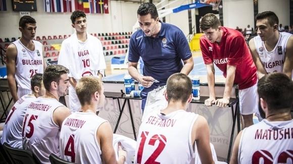 България ще играе за 11-ото място на Европейското по баскетбол за юноши до 18 години