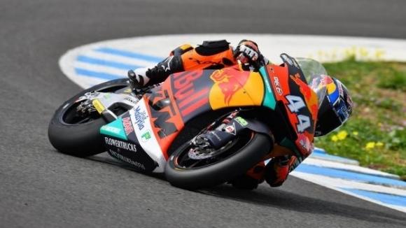 Мигел Оливейра спечели в клас Moto2 в старта за Гран При на Чехия