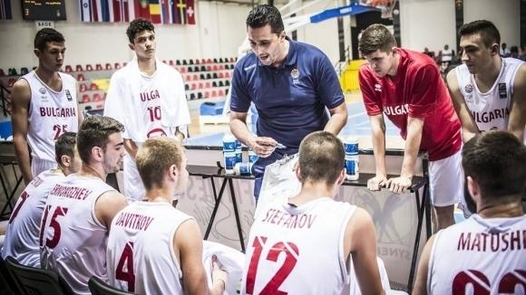 България завърши на 11-о място на ЕП по баскетбол за юноши до 18 години в дивизия Б
