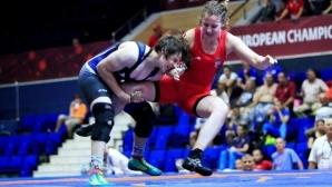 Юлияна Янева със сребро от Европейското първенство по борба за девойки в Рим