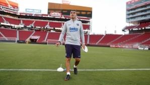 Валверде: Видал ще обогати стила на Барселона