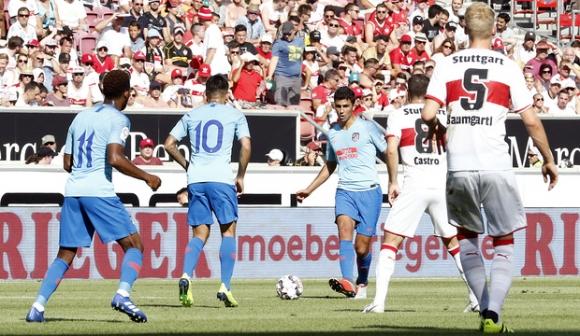 Льомар и Желсон Мартинш дебютираха за Атлетико, младок вкара за 1:1 с Щутгарт