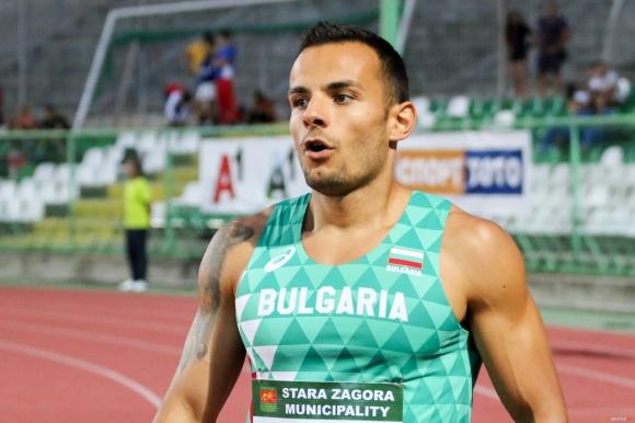 Димитров и Пеев отпаднаха в сериите на 100 метра на старта на Европейското в Берлин