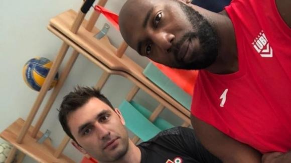 Цецо Соколов представи първи Робертланди Симон като играч на Лубе