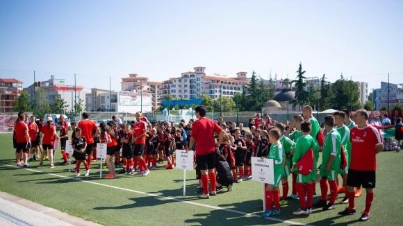 Започна седмото издание на Milan Junior Camp у нас