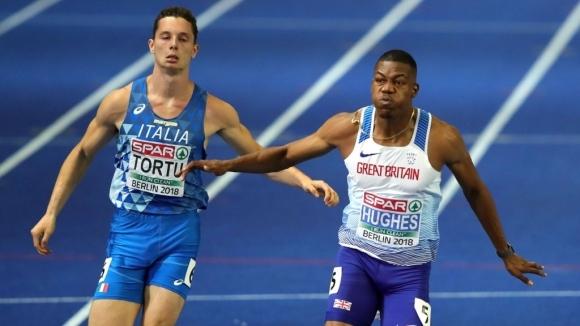 Британски триумф и в мъжкия спринт на 100 м в Берлин