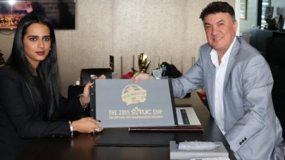 Боби Михайлов и принцесата на Катар дават старт на Световната купа SATUC в неделя