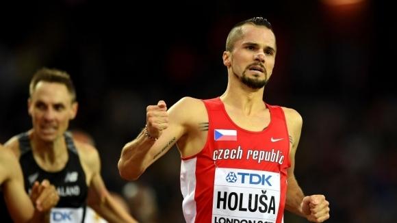 Чешкият отбор на Европейското по лека атлетика пълен с футболисти