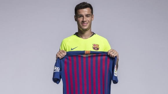 Коутиньо с нов номер в Барселона