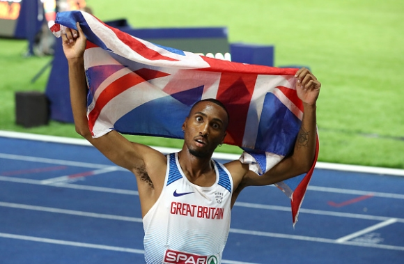 Матю Хъдсън-Смит от Великобритания стана европейски шампион в бягането на 400 метра