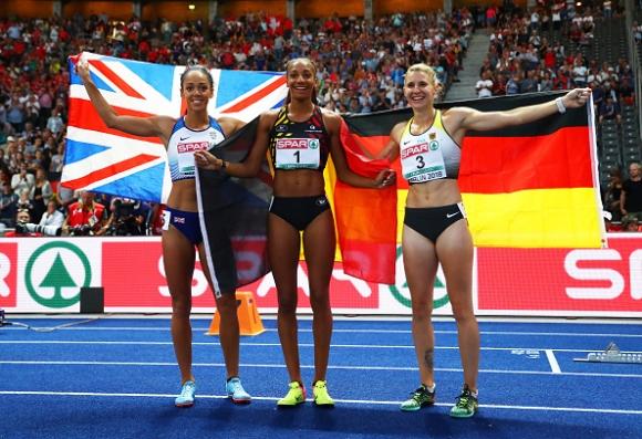 Олимпийската и световна шампионка Нафисату Тиам спечели титлата в седмобоя